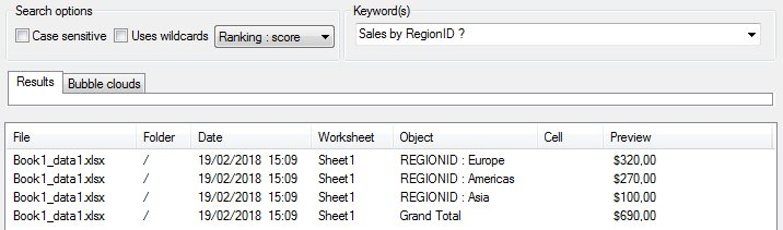 A better Search tool for Excel, Word and Powerpoint